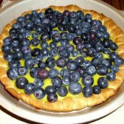 Lemon Blueberry Puff Tart recipe