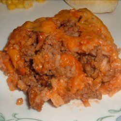 Spanish Rice and Beef Casserole recipe
