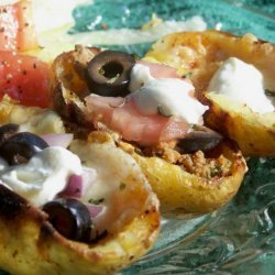 Nacho Potato Skins recipe