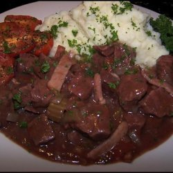 Slow Cooked Beef in Red Wine recipe
