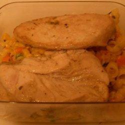 Lemon Garlic Dump Chicken recipe