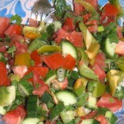 Chopped Mediterranean Salad recipe