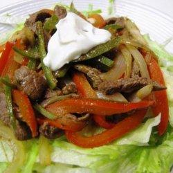 Mexican Beef Stir-Fry recipe