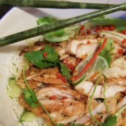 Bun Ga Nuong (Grilled Chicken and Vermicelli Salad) recipe