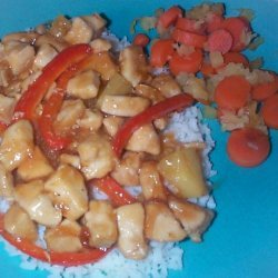 Sweet Pepper Chicken recipe