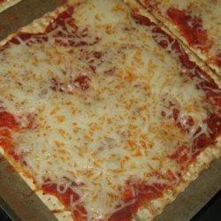 Quick Matzo Pizza recipe