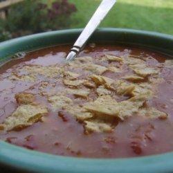 Pillsbury Slow Cooker Chicken Tortilla Soup recipe