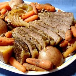 Don's Pot Roast (Crock Pot) recipe