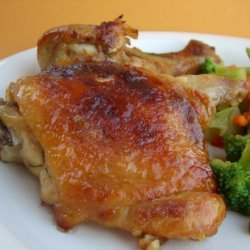 Honey Ginger Roasted Chicken recipe