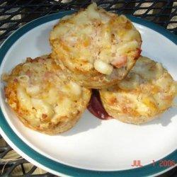 Ham Noodle Muffins recipe