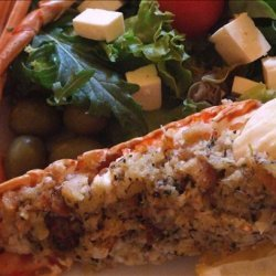 Baked Stuffed Lobster Tails recipe