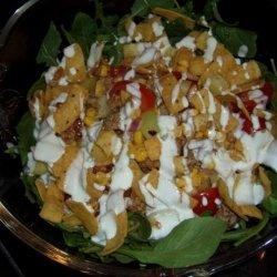 Pork Taco Salad recipe
