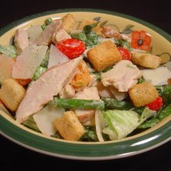 Chicken Caesar Salad With Asparagus recipe