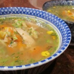 Chicken Soup - a Gift to Comfort a Friend recipe