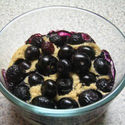 Easy Splenda Blueberry Cobbler recipe