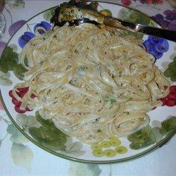Lemon Cream Fettuccini recipe