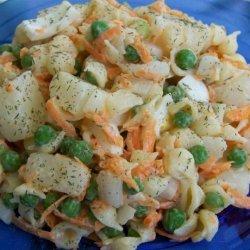 Mom's Macaroni and Potato Salad recipe