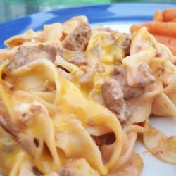 Beef Noodle Bake (Oven or Crock Pot) recipe