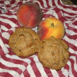 Peach Streusel Muffins recipe