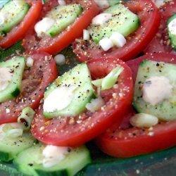 Tomato and Cucumber recipe