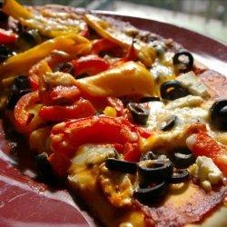 Bree's Vegetarian Pizza recipe