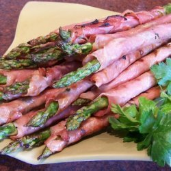 Grilled Asparagus Wrapped in Prosciutto recipe