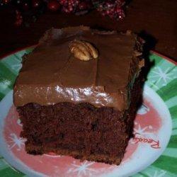 Cinnamon Chocolate Cake recipe