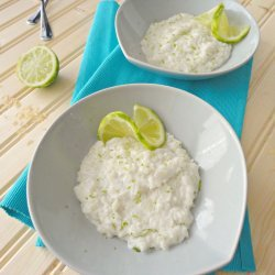 Coconut Lime Rice Pudding recipe