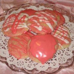 Pink Sweeties (Pretty Pink Almond Cookies) recipe