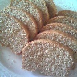 Soft Crust Whole Wheat Bread recipe