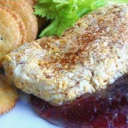 Easy Raspberry Cheese Appetizer recipe