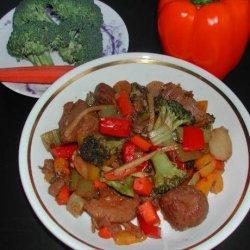 Spicy Screamin' Szechuan Stir Fry recipe