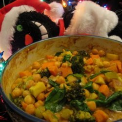 Sweet Chickpea Curry recipe