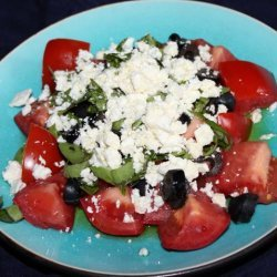 Simple Feta Salad recipe
