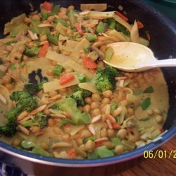 Vegetable Curry (Microwave) recipe