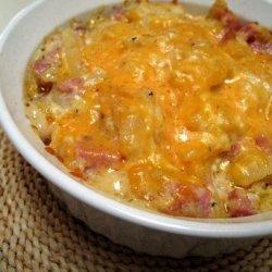 Quick Ham and Potato Scallop recipe