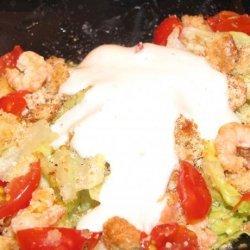 Grilled Shrimp Caesar Salad recipe