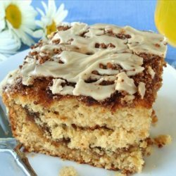 Coffee Glazed Coffee Cake recipe