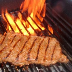 Marinated, Grilled London Broil recipe