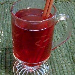 Hot Cranberry Cider recipe