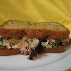 Isaiah's Tasty Reduced-Fat Tuna Salad recipe