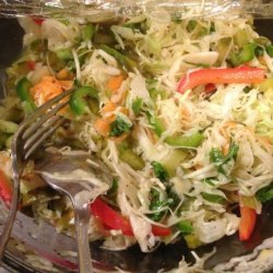 Luby's Cafeteria's Spanish Cole Slaw recipe