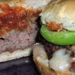 Pizza Burgers for 2 recipe