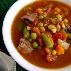 Quick Vegetable Beef Soup recipe