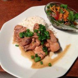 Vietnamese Ginger Chicken (Ga Kho) recipe