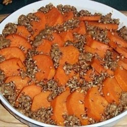 Streusel Sweet Potatoes recipe