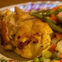 Crab Stuffed, Crumbed, Chicken recipe