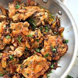 Saucy Garlic Chicken recipe