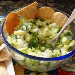 Cucumber Chili Salsa recipe