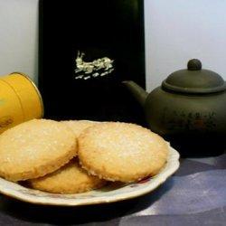 Toasted Coconut Shortbread recipe